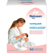 Natusan Baby - NATUSAN BABY AMNINGSKUPOR VITA 50 st