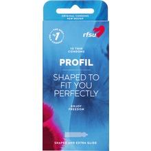 RFSU Profil - PROFIL KONDOM BEHÅLL+GLIDMEDEL 10st