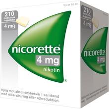 Nicorette - Nikotintuggummi