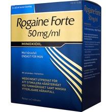 Rogaine forte - Kutan lösning 50 mg/ml Minoxidil 3 x 60 milliliter