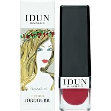 IDUN MINERALS - Lipstick Jordgubb 4 gr