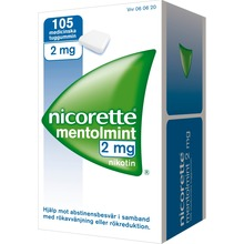 Nicorette Mentolmint - Nikotintuggummi