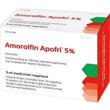 Amorolfin Apofri - Medicinskt nagellack 5 % Amorolfin 3 milliliter