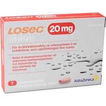 Losec - Enterotablett 20 mg 7 styck