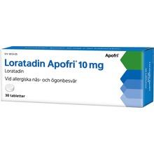 Loratadin Apofri - Tablett 10 mg Loratadin 30 tablett(er)