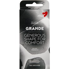 RFSU Grande - GRANDE KONDOM BEHÅLL+GLIDMEDEL 10st