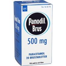 Panodil Brus - Brustablett 500 mg Paracetamol 20 styck