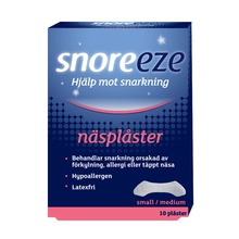 Snoreeze - Näsplåster small/medium 10 st
