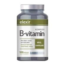 B-vitamin Komplex - Kosttillskott 100 st