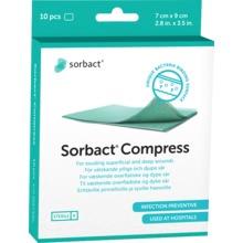 - SORBACT KOMPRESS 7X9 CM 10 ST