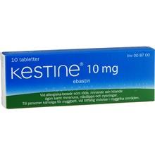 Kestine - Filmdragerad tablett 10 mg Ebastin 10 tablett(er)