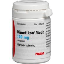 Dimetikon Meda - Kapsel, mjuk 100 mg Dimetikon 250 styck