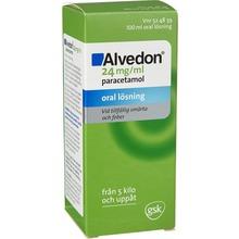 Alvedon - Oral lösning 24 mg/ml 100 milliliter