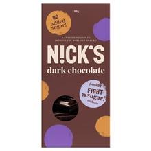 Nutri-Nick - Stevia Choklad mörk 80 g