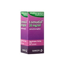 Lomudal - Ögondroppar, lösning 20 mg/ml Natriumkromoglikat 5 milliliter