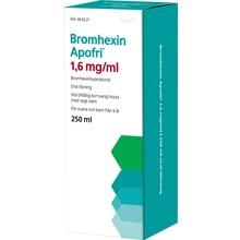 Bromhexin Apofri - Oral lösning 1,6 mg/ml Bromhexin 250 milliliter