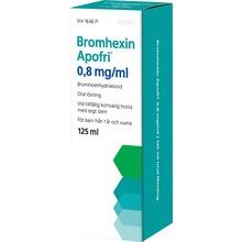 Bromhexin Apofri - Oral lösning 0,8 mg/ml Bromhexin 125 milliliter