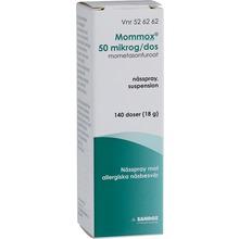 Nässpray, Kortison - Nässpray, suspension 50 mikrogram/dos Mometason 140 dos(er)