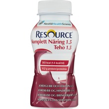 - drickfärdigt kosttillägg, hallon/jordgubb 4 x 200 milliliter
