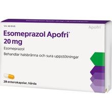 Esomeprazol Apofri - Enterokapsel, hård 20 mg Esomeprazol 28 kapsel/kapslar