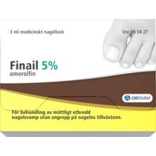 Finail - Medicinskt nagellack 5 % Amorolfin 3 milliliter