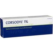 Corsodyl - Munhålegel 1 % 50 gram