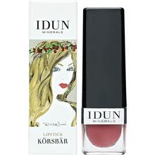 IDUN MINERALS - Lipstick Körsbär 4 gr
