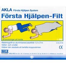 AKLA - FÖRSTA HJÄLPEN -FILT 1 st