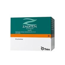 Zaditen - Ögondroppar, lösning i endosbehållare 0,25 mg/ml Ketotifen 60 x 0,4 milliliter