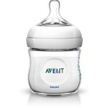 Avent Natural nappflaska - Dubbla ventiler 125 ml