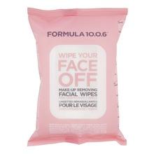 Formula 10.0.6 - Wipe Your Face Off ansiktsservetter 25 st
