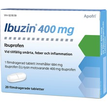 Ibuzin - Filmdragerad tablett 400 mg 20 tablett(er)