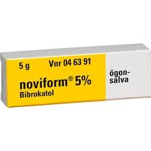 Noviform ögonsalva - Receptfritt läkemedel