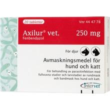 Axilur vet. - Tablett 250 mg 2 x 10 tablett(er)
