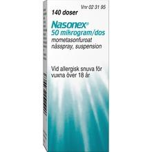 Nasonex nässpray - Anti-inflammatorisk med kortison. 140 doser