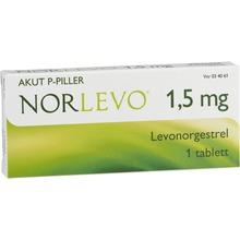 NorLevo - Tablett 1,5 mg Levonorgestrel 1 tablett(er)