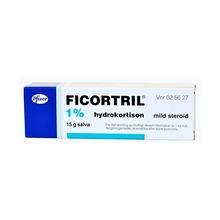Ficortril - Salva 1 % 15 gram