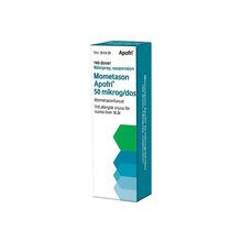 Mometason Apofri - Nässpray, suspension 50 mikrogram/dos Mometason 140 dos(er)