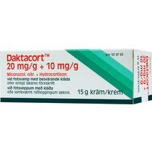 Daktacort - Kräm 20 mg/g + 10 mg/g Hydrokortison + mikonazol 15 gram