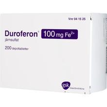 Duroferon - Depottablett 100 mg Fe2+ 200 styck