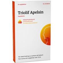 Triolif Apelsin - Sugtablett Lidokain + amylmetakresol + diklorbensylalkohol 24 tablett(er)