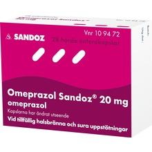 - Enterokapsel, hård 20 mg Omeprazol 28 kapsel/kapslar