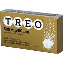 Treo - Brustablett 500 mg/50 mg Acetylsalicylsyra + koffein 3 x 20 styck