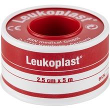 Leukoplast - porös häfta vid stomi, 5 m x 2,5 cm, tryckspole 1 styck