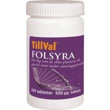 MittVal/TillVal - TillVal Folsyra 100 st