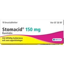 Stomacid - Brustablett 150 mg 10 styck
