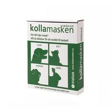 Vidilab - KOLLAMASKEN SMÅDJUR 1 st