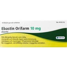 Ebastin Orifarm - Filmdragerad tablett 10 mg Ebastin 10 styck