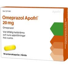 Omeprazol Apofri - Enterokapsel, hård 20 mg 14 kapsel/kapslar