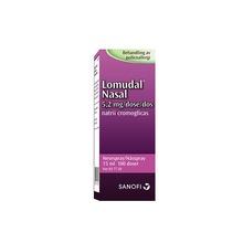 Lomudal Nasal - Nässpray, lösning 5,2 mg/dos Natriumkromoglikat 100 dos(er)